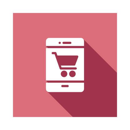 shopping in vector illustration