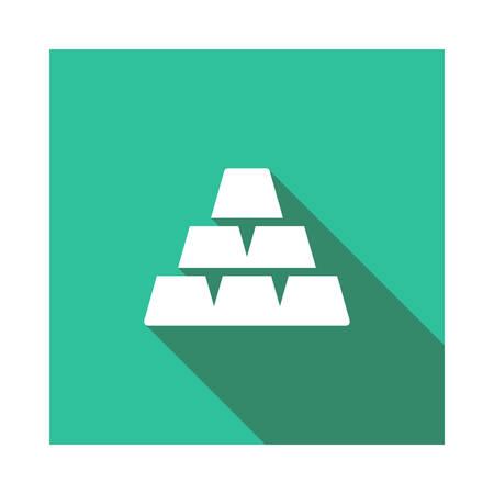 blocks in vector illustration Иллюстрация