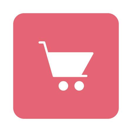 winkelen in vector illustratie Stock Illustratie