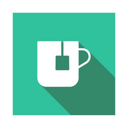 tea in vector illustration Ilustração