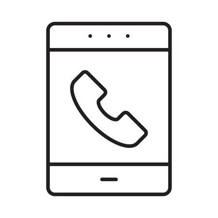 mobile in vector illustration