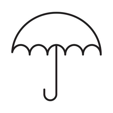 umbrella in vector illustration