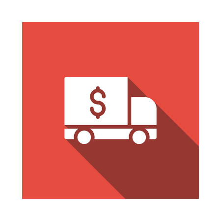 delivery in vector illustration