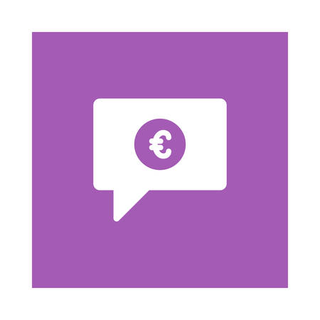 Chat with currency icon.