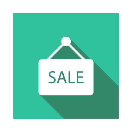 sale in vector illustration