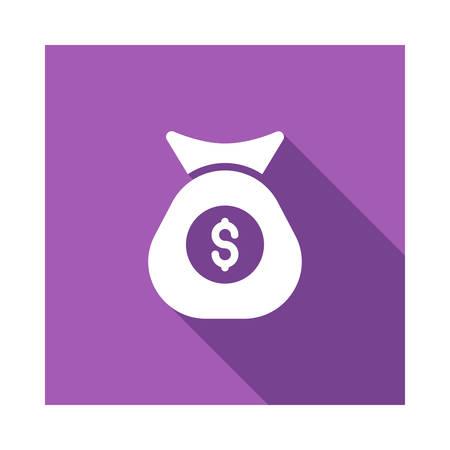 ベクトルイラストレーションの現金