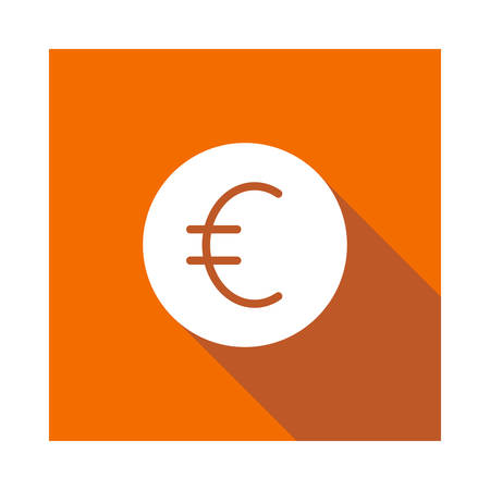euro in vector illustration