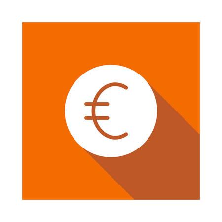 euro in vector illustration