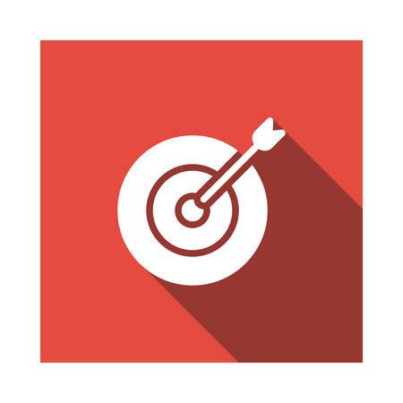 target in vector illustration Illustration