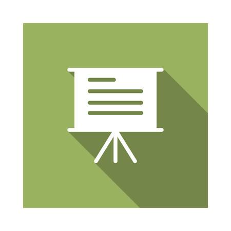 presentation in vector illustration