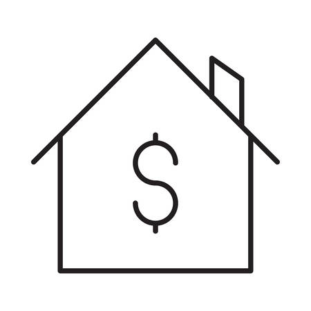 house in vector illustration