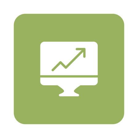 screen in vector illustration