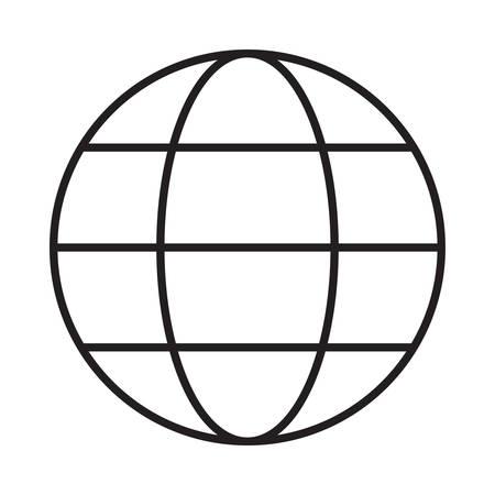 world in vector illustration