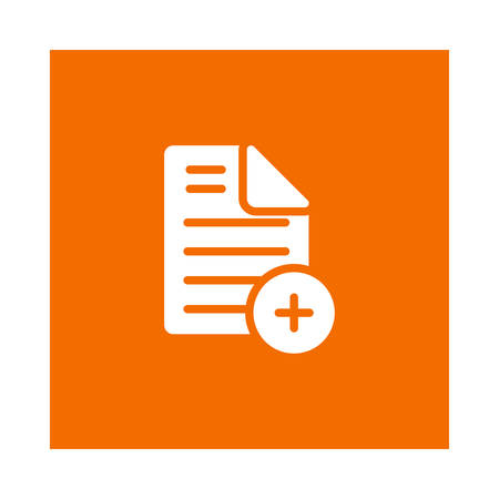 File paper icon.