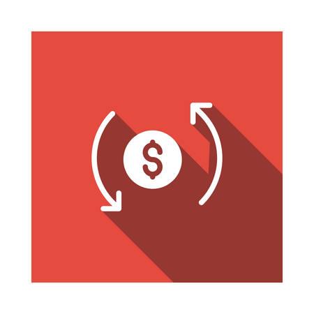 ベクトルイラストレーションの通貨  イラスト・ベクター素材