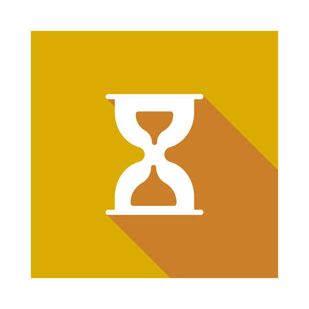 timer in vector illustration Çizim