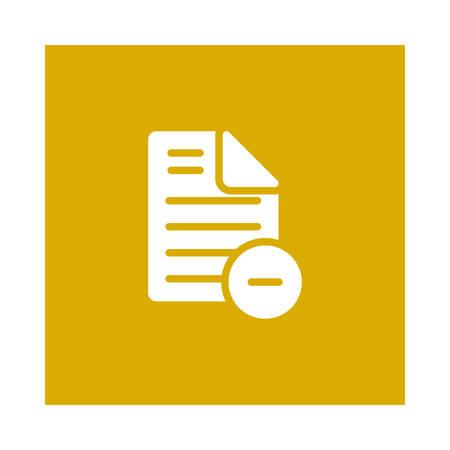 Dateisymbol Standard-Bild - 88806448