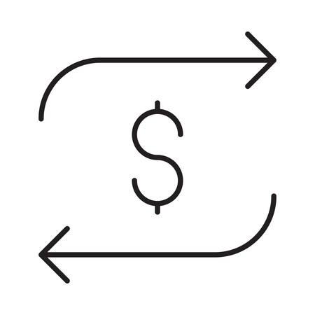 ベクトルイラストレーションのお金  イラスト・ベクター素材