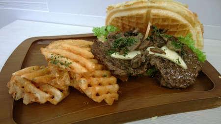 Beef burger Stok Fotoğraf - 29998277