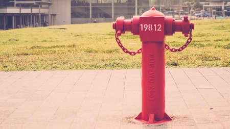 borne fontaine: Bouche d'incendie dans Feel Vintage