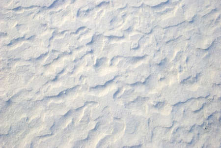 affected: Snow affected by wind, texture Stock Photo