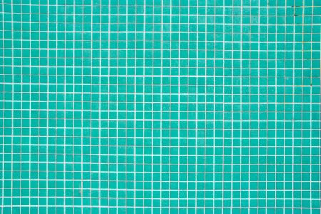 Turquoise Tiles Pattern photo