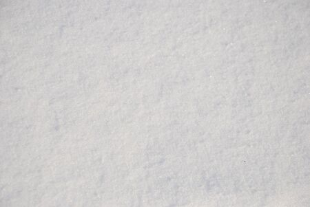 Snow texture close-up photo