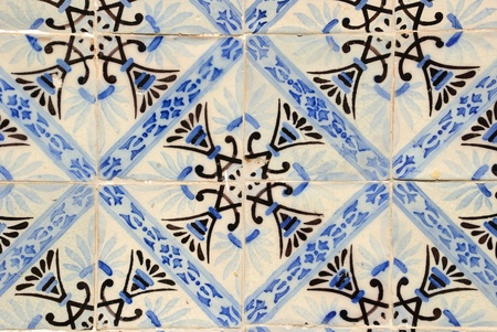 Traditional portuguese tiles, Azulejos photo