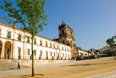Alcobaca monastery, Portugal Stock Photo