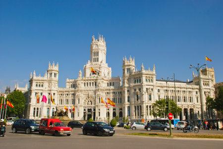 cibeles: Palacio de Cibeles, Madrid, Spain