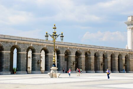 Royal palace, Palacio real, Madrid, Spain