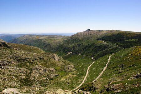 Vale Rossim valley, Serra da Estrela natural park, Portugal photo