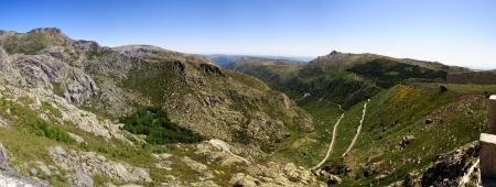 Vale Rossim valley, Serra da Estrela natural park, Portugal