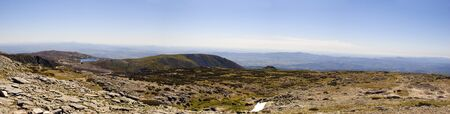 View from Serra da Estrela natural park, Portugal photo