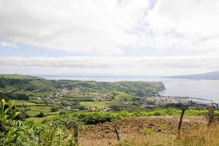 Rural Landscape of Faial island, Azores photo