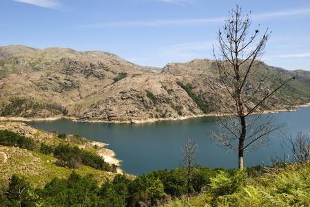 Lake in national park Peneda Geres, north of Porugal