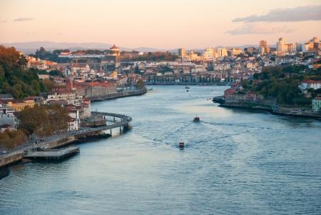 Porto with the Douro river, Portugal