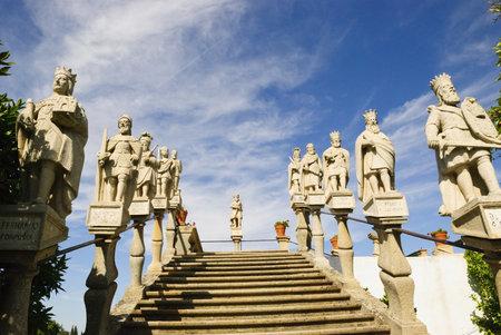 episcopal: Jardim Episcopal Garden, Castelo Branco, Portugal