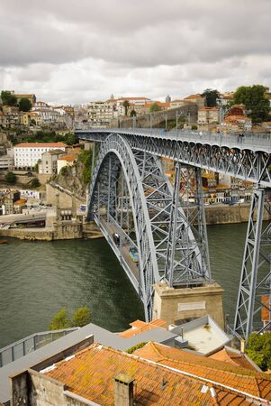 luis: Ponte Luis I bridge, Porto, Portugal