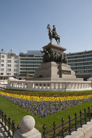 tsar: The monument of Tsar Alexander II of Russia in Sofia, Bulgaria