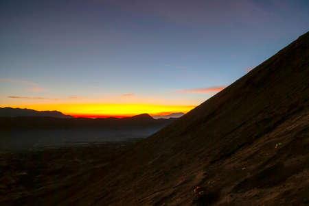 colorful sunrise: Colorful sunrise over Bromo volcano, East Java, Indonesia