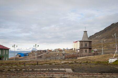 russian orthodox: Russian orthodox church in Barentsburg, Svalbard, Norway
