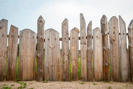 tablones de madera de la cerca Foto de archivo