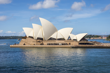 View on Sydney Opera house in daylight