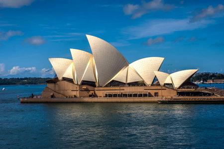 sydney opera house: View on Sydney Opera house in daylight, HDR photo