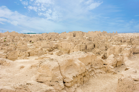 Jiaohe Ancient Ruins Turpan Xinjiang Uyghur Autonomous Region China