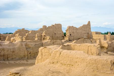 archaeologies: Jiaohe Ancient Ruins Turpan Xinjiang Uyghur Autonomous Region China