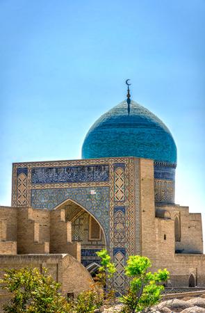 Dome on Mir i Arab madrassa, Bukhara, Uzbekistan