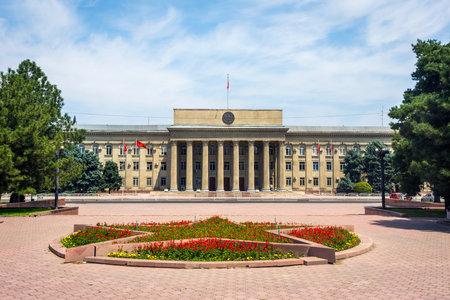 The building of Kyrgyz government, Bishkek capital
