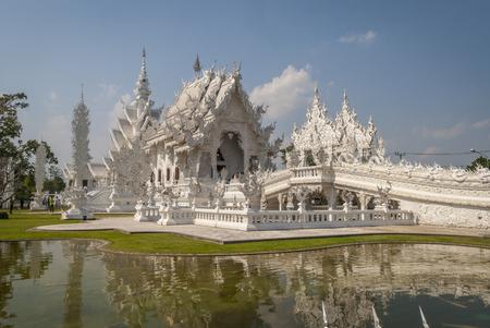 Wat Rong Khun, Templo Blanco de Chiang Rai, Tailandia